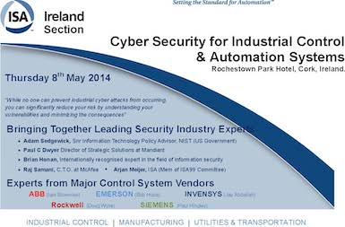 Industrial Cybersecurity Conference #IndCyber