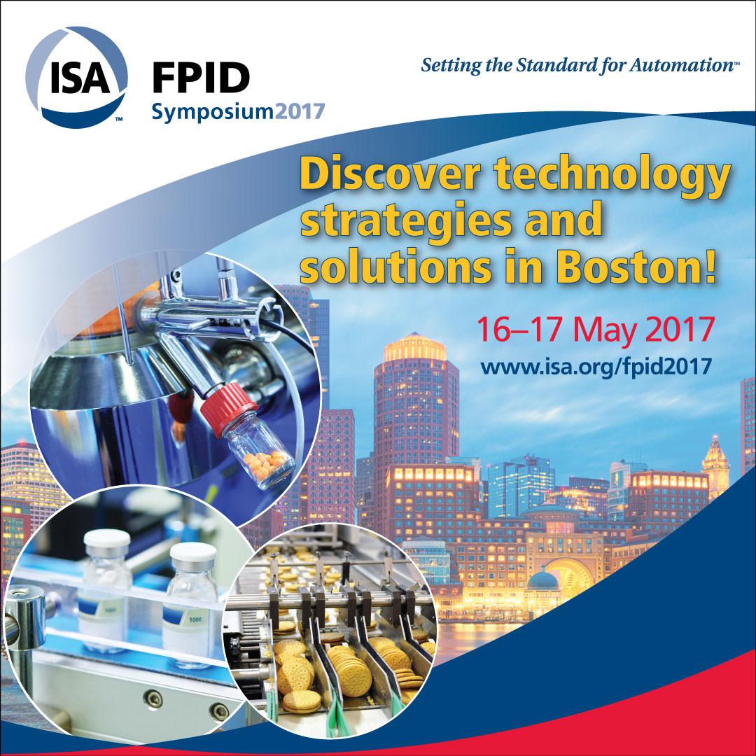 ISA FPID 2017 Symposium Boston